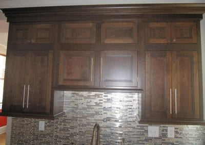 Cabinet Detail Over Kitchen Sink