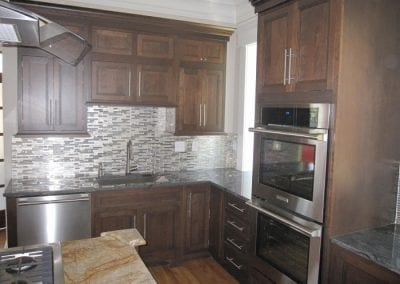 Double Oven, Undermounted Sink and Great Back Splash