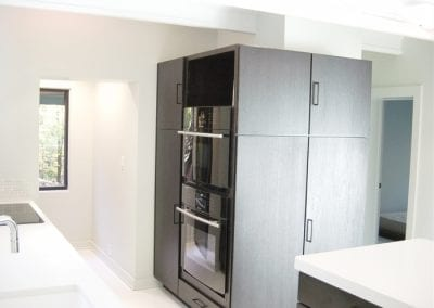Nice Use of Limited Space with Pantry and Appliances