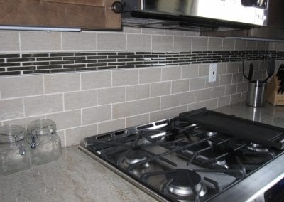 Simple Yet Elegant Back Splash