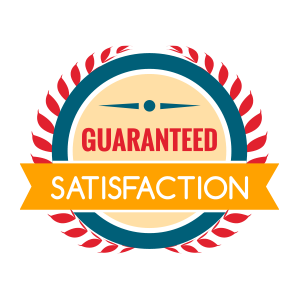 We Guarantee Our Work for Your Satisfaction
